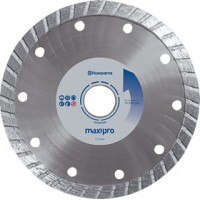 "4""/100mm wave turbo diamond tile cutting disc - Husqvarna Maxipro"
