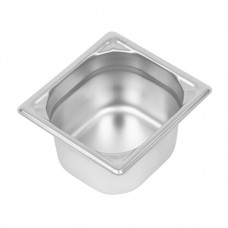 Sixth Size Gastronorm Pans Steam Pans 1/6