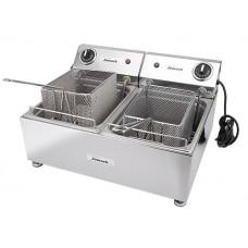 Jomack Twin Counter Top Fryer