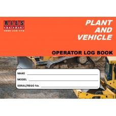 Generic Plant & Vehicle Operator Logbook A5