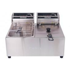 Birko Twin Counter Top Fryer