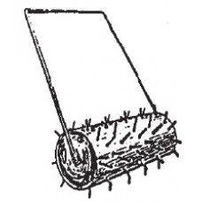 Lawn Roller Spiked
