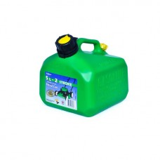 5 Litre Fuel Can - Green 2 Stroke
